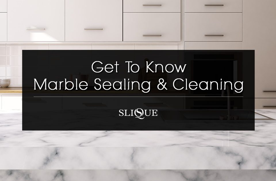 Marble Sealing & Cleaning | Slique