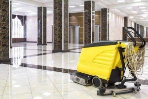 How Restore Shine Floor Tiles hotel lobby
