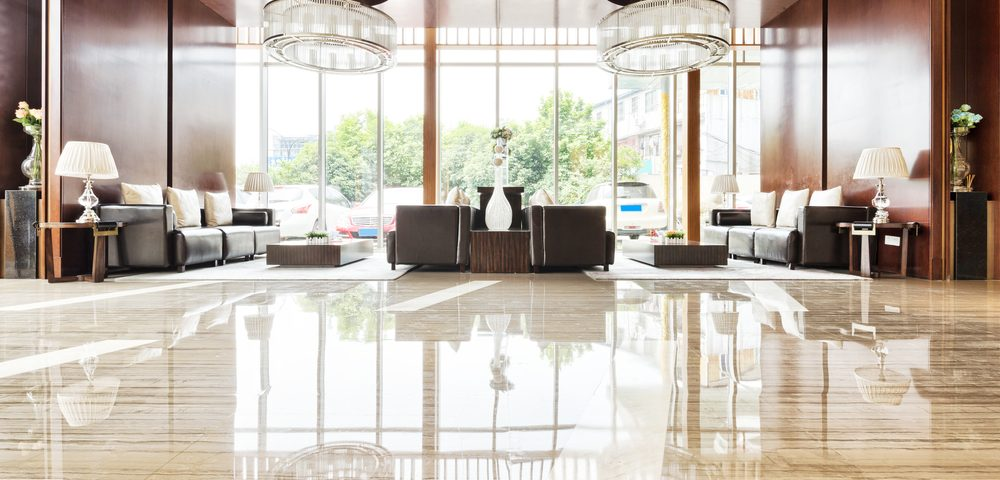 How To Clean Take Care Marble Flooring lobby
