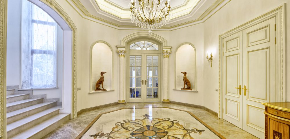 Pros And Cons Marble Flooring lobby