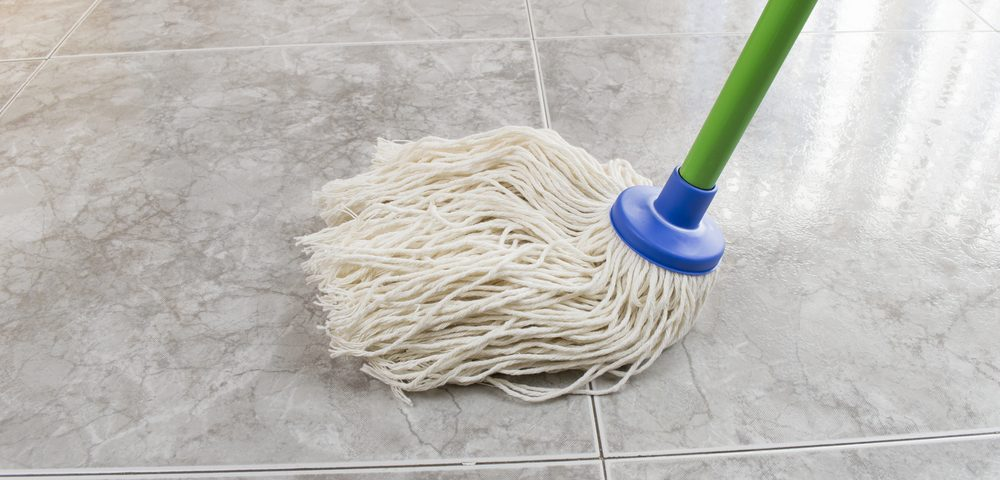Does Regular Mopping Damage Marble Floor Tiles
